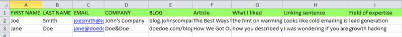 How-to-make-prospects-database-spreadsheet
