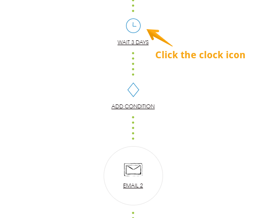 How to set up a follow-up delay in Woodpecker