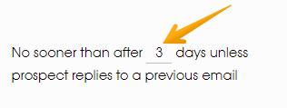 schedule follow up woodpecker screenshot