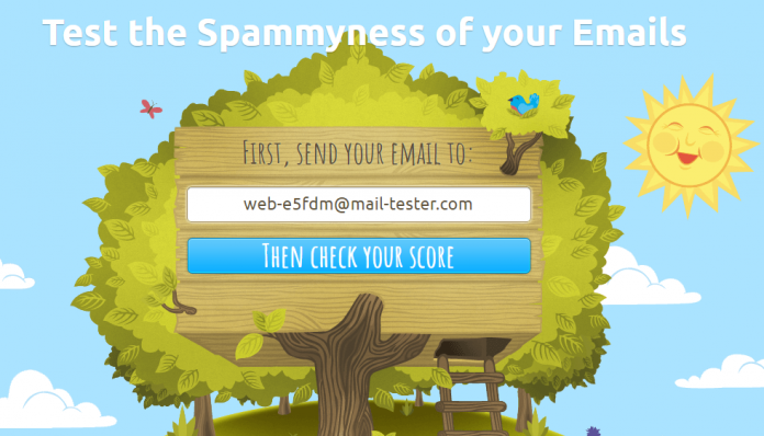 testing email in mailtester