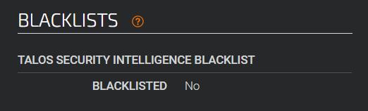 talos-blacklists