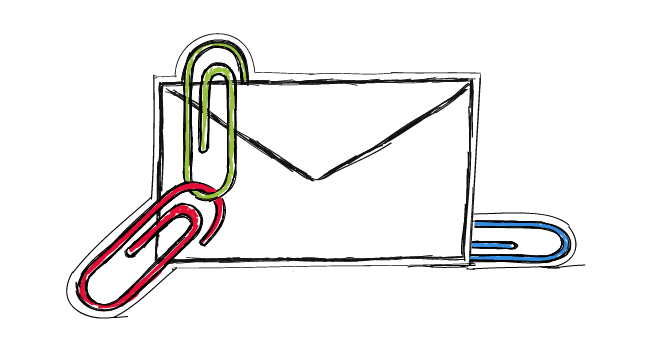 attachments in cold email should we ever use them