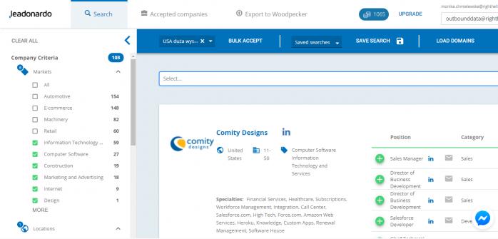leadonardo-screenshot-search