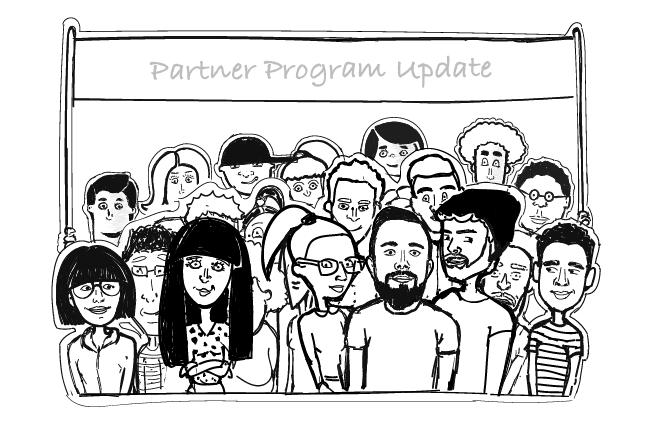 join woodpecker partner program people illustration