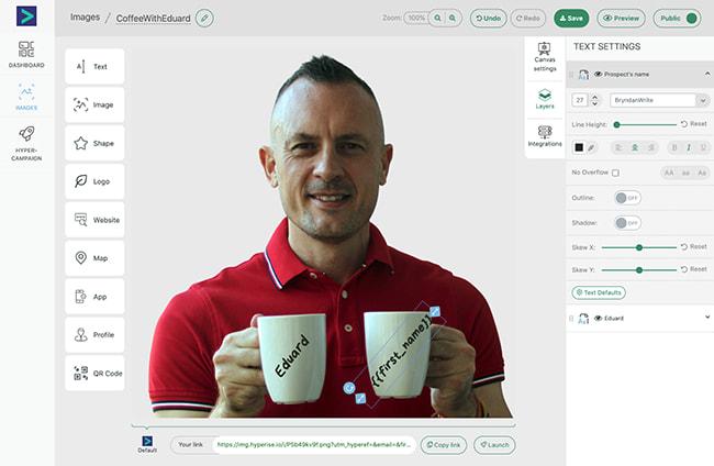 image personalization
