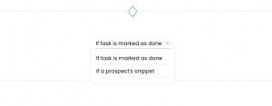 condition to manual task