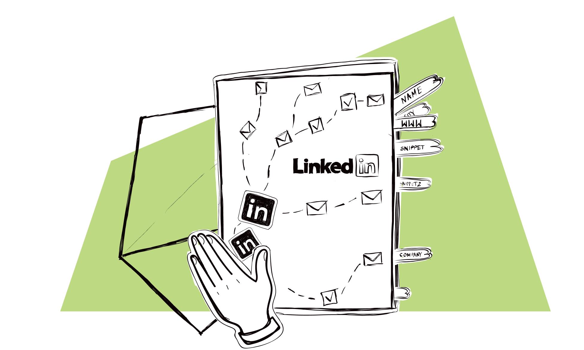 LinkedIn - cold outreach