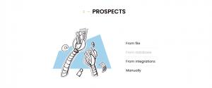 add prospects in Woodpecker