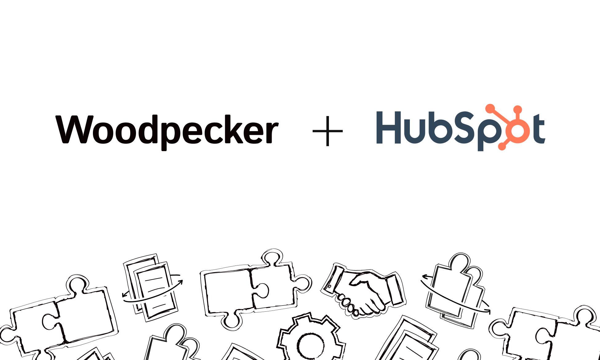 Woodpecker and HubSpot native integration